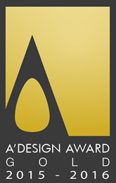A Design Award Gold 2015 - 2016